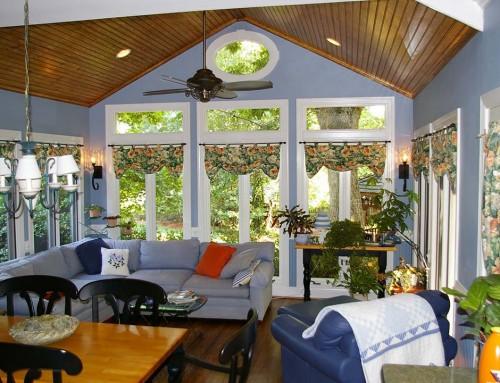 Sunroom renovation