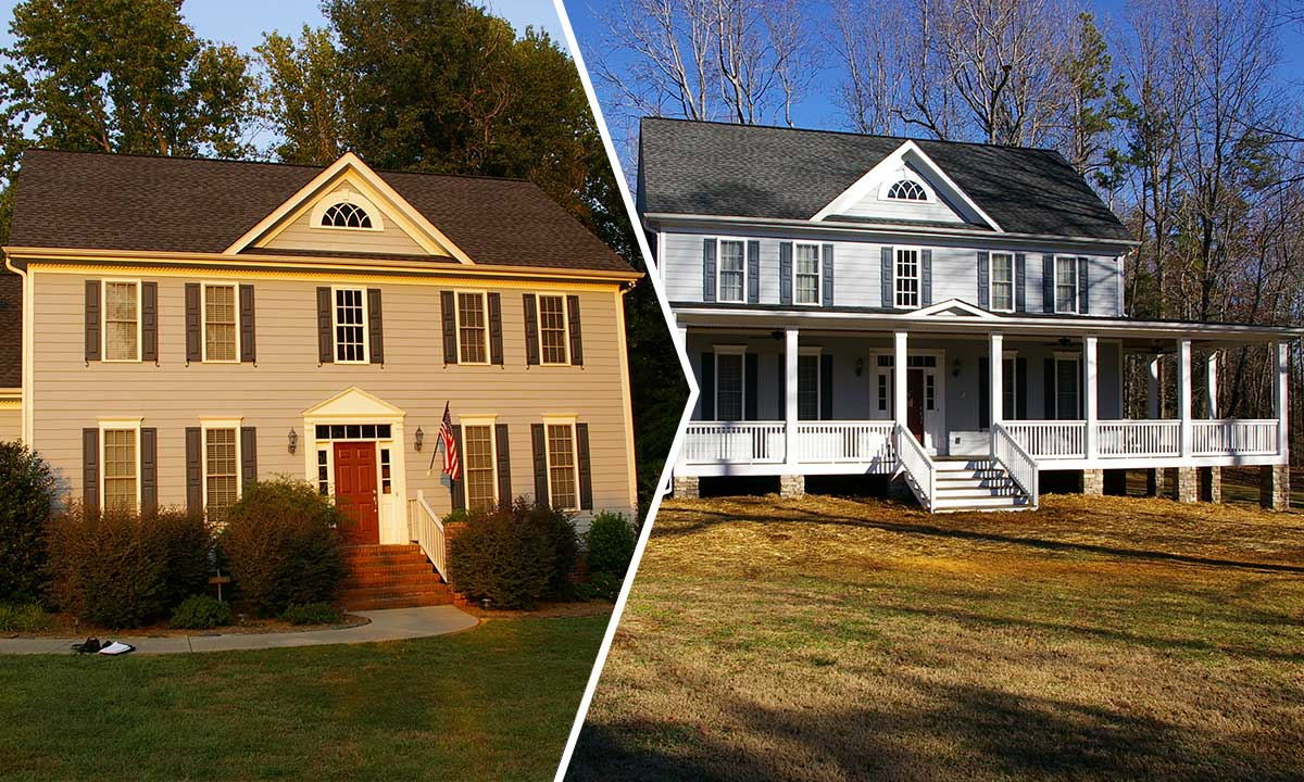 Before and after porch additions joy studio design for Home addition ideas pictures