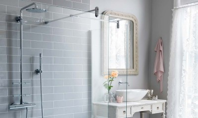 Bathroom remodleing with European Wet Room from Trending Accessibility