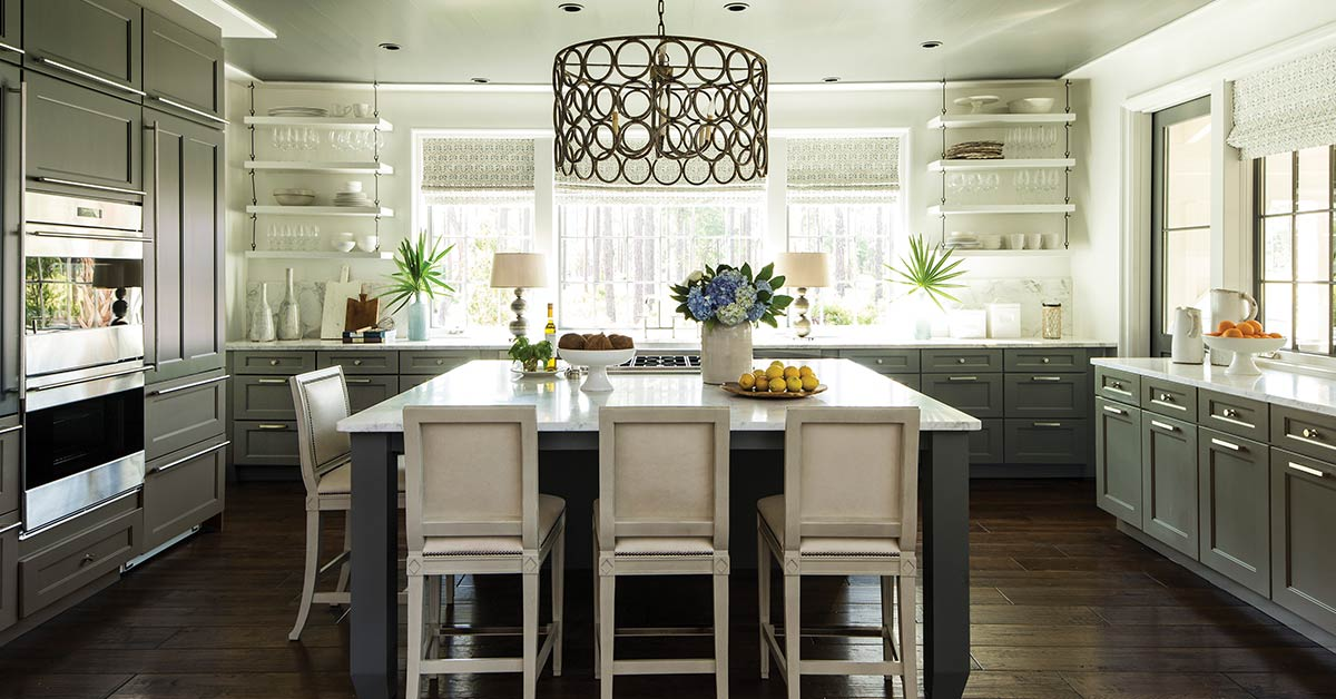 Open kitchen shelves – a great kitchen renovation design idea