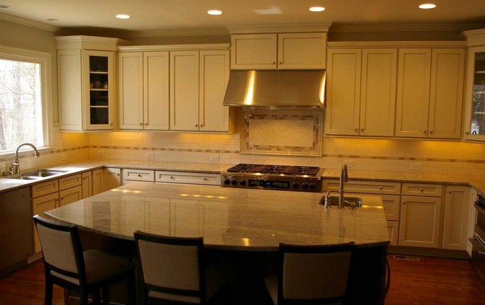 Adapting small kitchen design ideas for larger kitchen