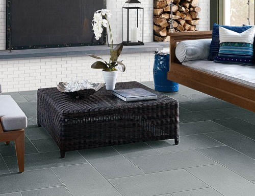The softer side of tile: Linen look tile