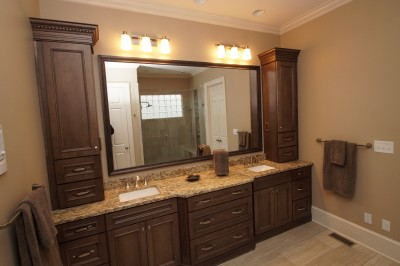 His and Her Master Bathroom