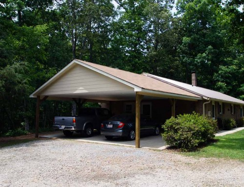 Carport addition – Creating a usable space for vehicles and life
